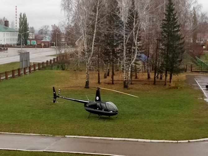 12 октября  по линии санитарной авиации из РКБ им. Г. Г Куватова для оказания экстренной хирургической помощи прилетели борт - хирург Заварухин В. А.