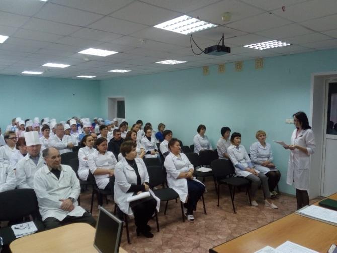 Врач невролог Ахкямова А. Я. провела семинар для  медицинских работников Балтачевской ЦРБ о профилактике клещевого энцефалита